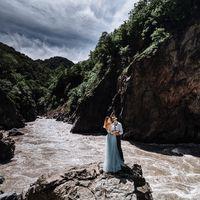 Фото сделано в рамках фото выходных в Адыгее #photowkndrnd   Платье: @_dress_bar_ В кадре Паша и Маша