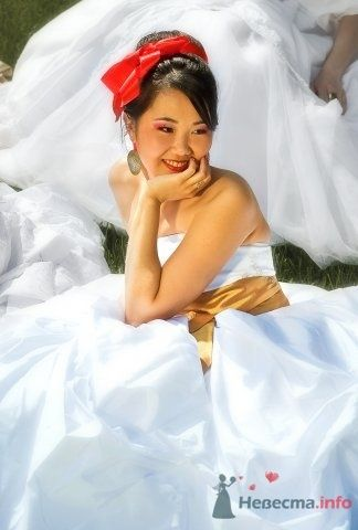 """Парад невест. Москва. """"Героини сказок"""" - образ Мулан. - фото 46849 Свадебный стилист Анна Гельд"""