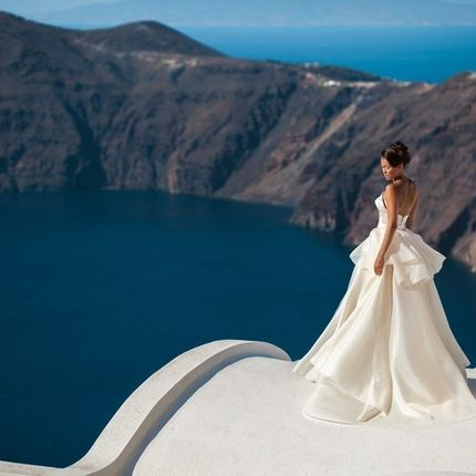 Официальная регистрация брака на Санторини