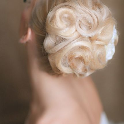Свадебная причёска от Любовь Фасхутиновой