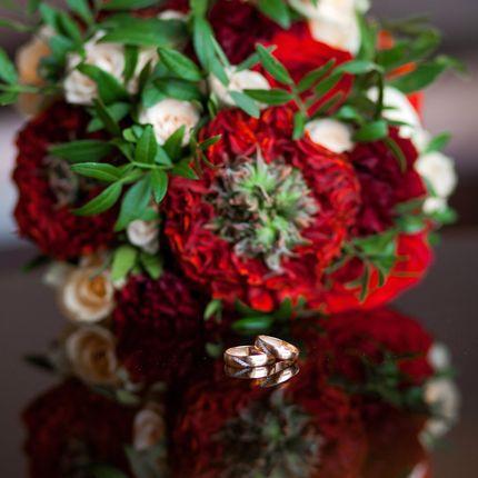 Экзотический букет невесты