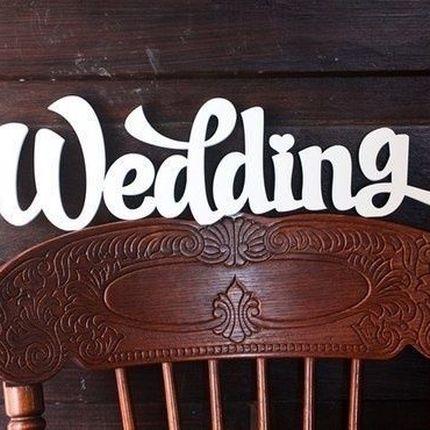 Аксессуары на свадьбу из пенопласта
