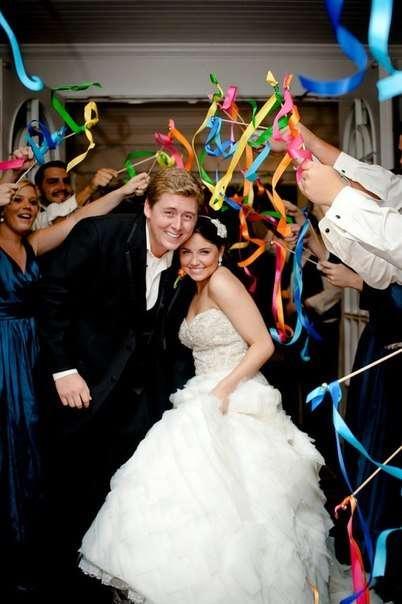 """Пример для использования палочек с ленточками - фото 3777427 Свадебный декор """"LюстRa"""""""