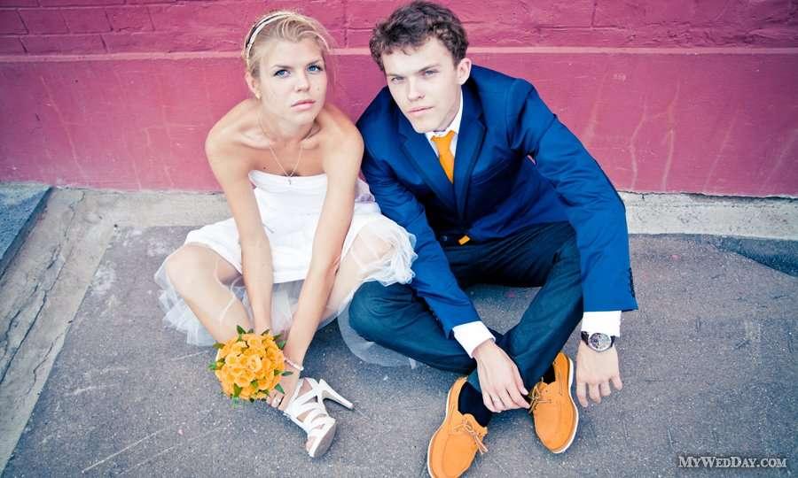 """""""Желтая свадьба: Стефания & Максим"""" - фото 1963631 Фотограф Marta Kounen"""