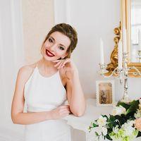 """Модель: Ксюша  Прическа и макияж: Яна Тьен  Фотостудия """"Like"""""""