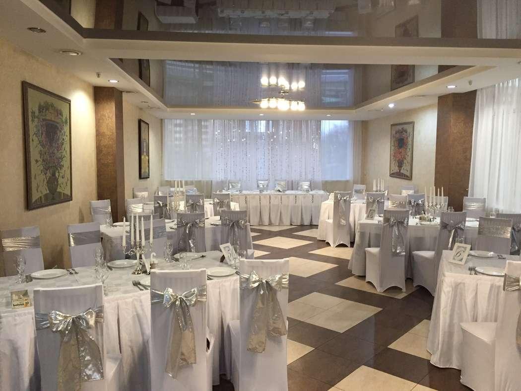 Оформление зала в серебре - фото 3854311 Love Level - флористика