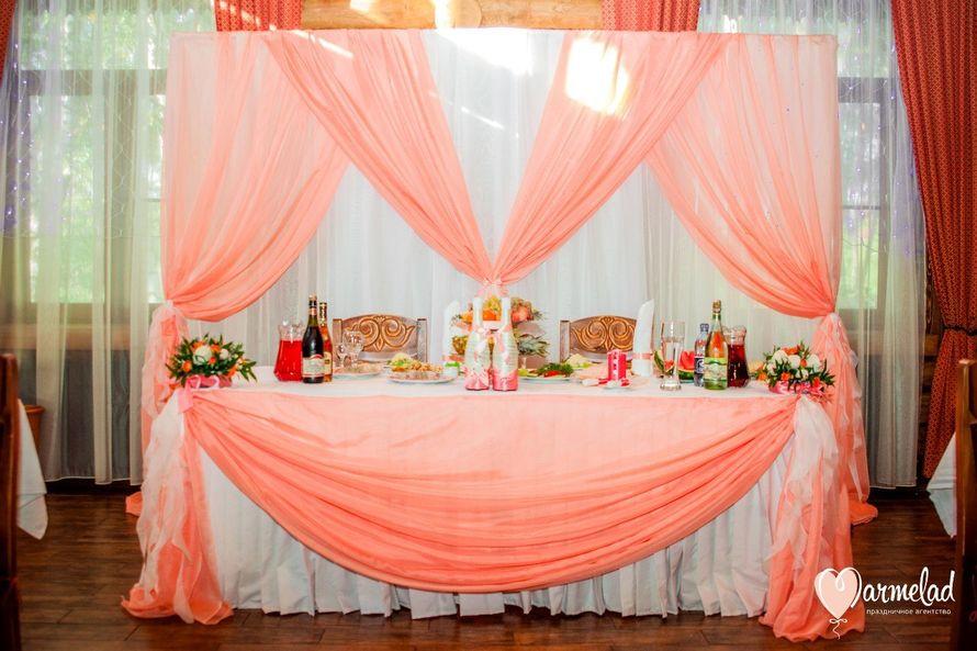 Фото 3871549 в коллекции Свадьба в персиковых тонах - Творческая мастерская Мармелад - оформление