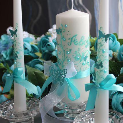 Комплект свечей для семейного очага