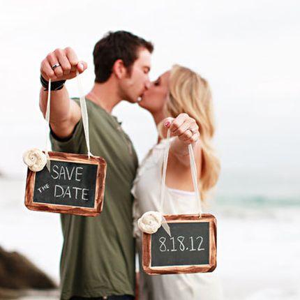 Видеоприглашение на свадьбу Save the date