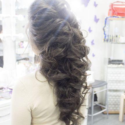 Пробная причёска