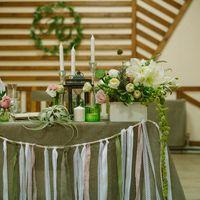 свадьба, свадебная флористика, рустик, подсвечники, фонари, свечи, мешковина