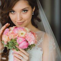 Свадебный макияж и Свадебная прическа от Ольги Некрасовой. Свадебный стилист.