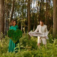 в лесу, элементы для фотографирования