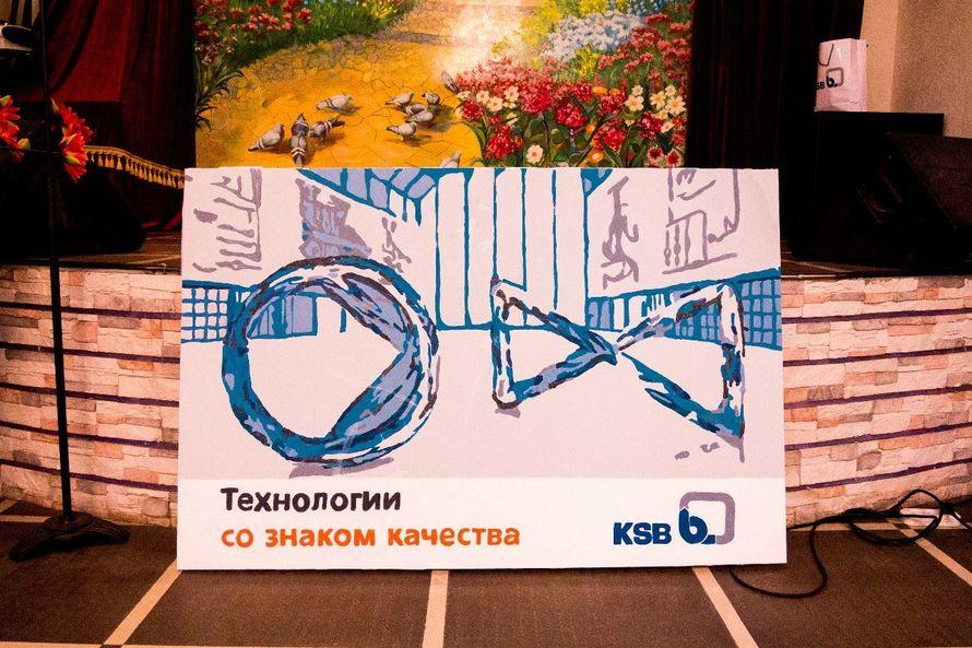 Фото 8651206 в коллекции Живописный интерактив - картина в исполнении гостей события! - Artlumen show - портрет-шоу