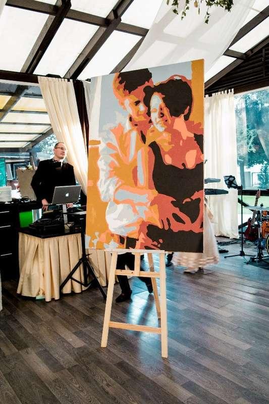 Фото 8651212 в коллекции Живописный интерактив - картина в исполнении гостей события! - Artlumen show - портрет-шоу
