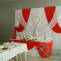 Оформление свадьбы Чебоксары (красный цвет)