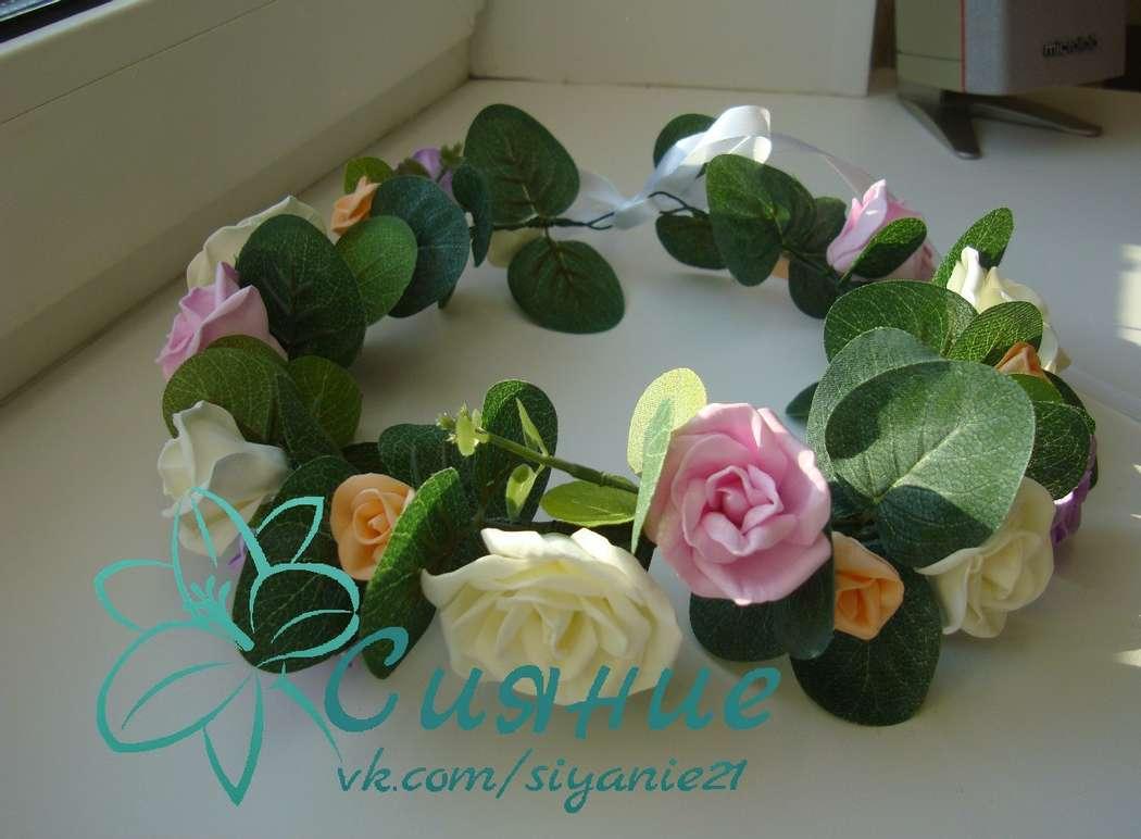 """Сияние. Веночек с цветами Чебоксары - фото 7115516 Студия оформления и аксессуаров """"Сияние"""""""