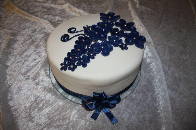 Свадебные торты фото одноярусные