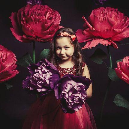 Ростовая роза для фотозон и оформления, цена за 1 шт