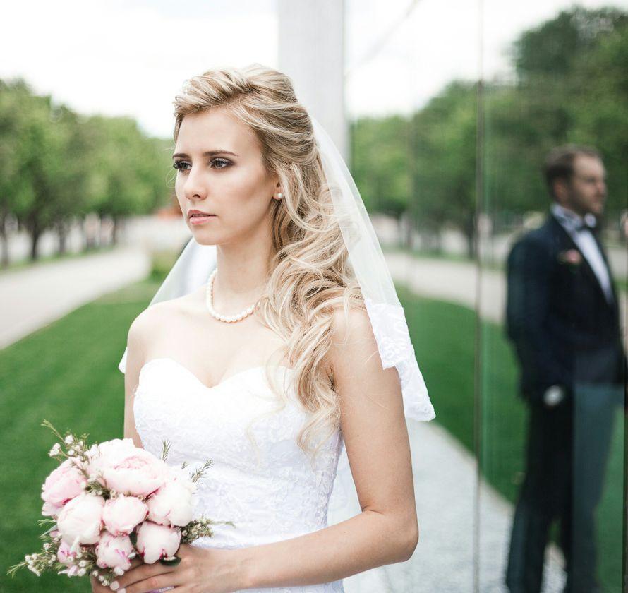 Свадебный образ, причёска и макияж