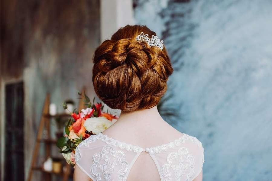 прическа на очень длинные и густые натуральные волосы. - фото 17102994 Стилист-визажист Крашенинникова Елена