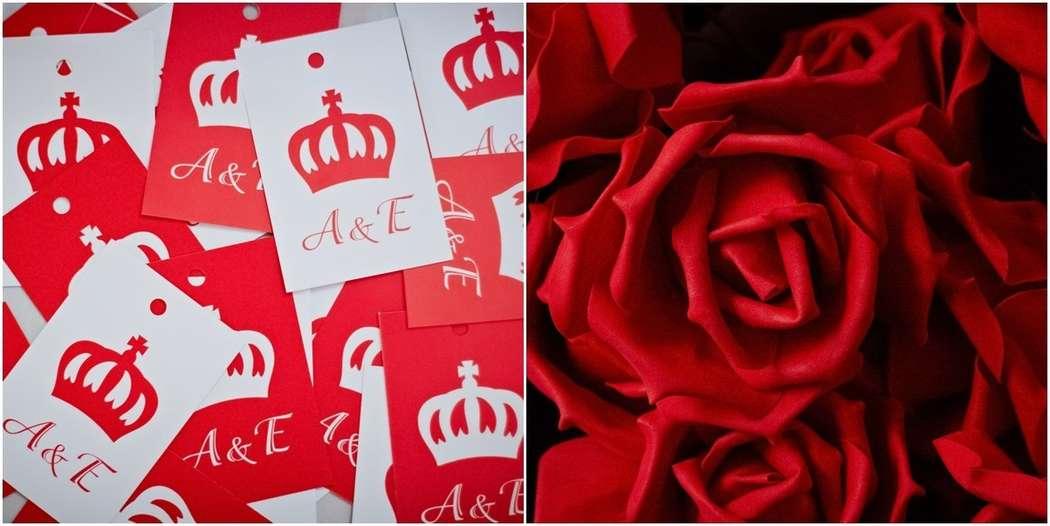 """Фото 6512116 в коллекции Елена и Андрей """"На контрасте красного и белого"""" - Сarrotsdesign Оформление свадеб, флористика"""