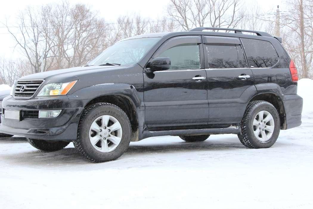 Lexus GX 470, цвет — черный металик, салон — серая кожа, раздельный климат контроль, вентиляция + подогрев сидений, люк.  Выбирайте цель - мы предложим путь!  Модно! Стильно! Молодежно! - заказать авто надежный! - фото 4167353 Компания VIP-auto - автомобили