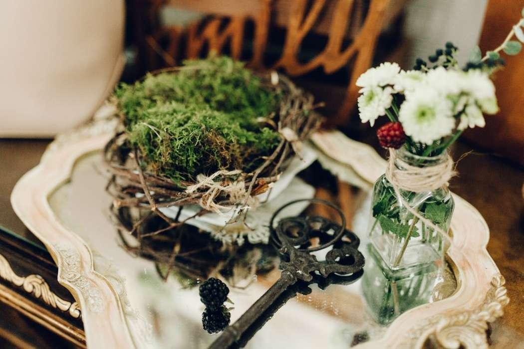 Фото 4192923 в коллекции Эко-свадьба Паши и Кати 20.09.2014 - Мятный Лимон мастерская декораций