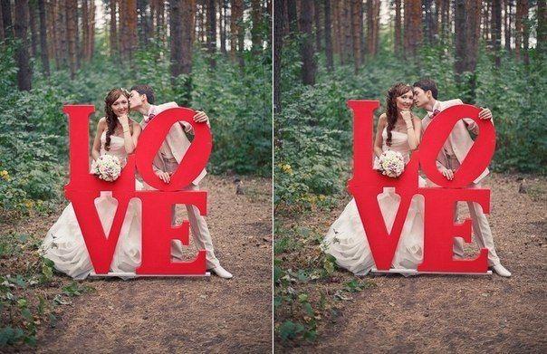 Буквы для фотосессии как сделать