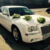 Chrysler 300C Белый - от 1300 до 1500 р/ч (с украшениями)