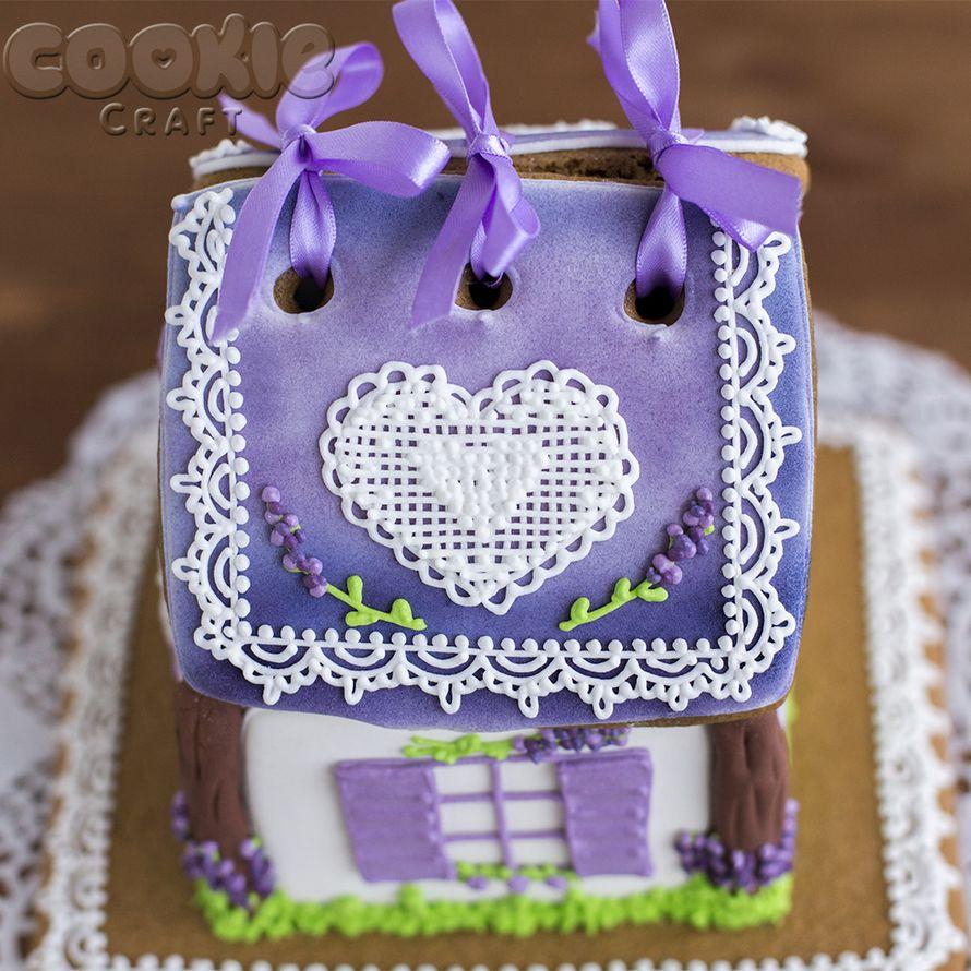 """Свадебный пряничный домик в стиле """"Прованс"""" - фото 9705834 Cookie craft - пряники и тортики ручной работы"""