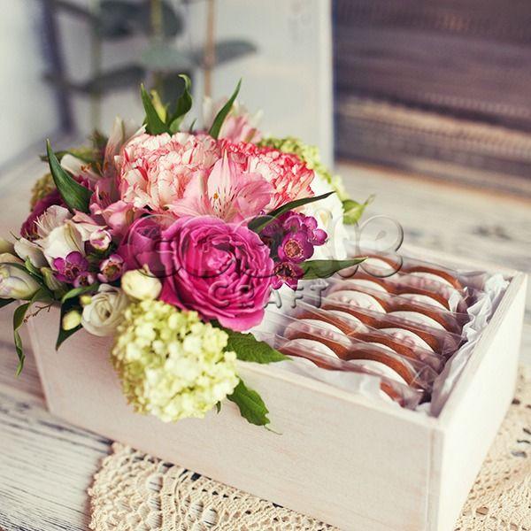 Свадебные цветы и пряники - фото 14855172 Cookie craft - пряники и тортики ручной работы