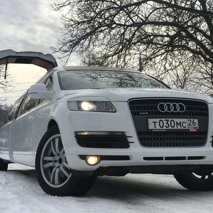 Аренда Audi Q7 limo style