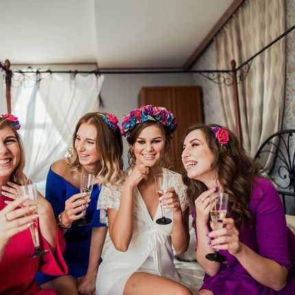 Аренда номера для сборов невесты