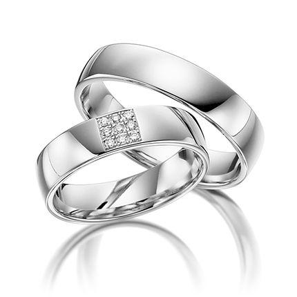 Обручальные кольца, Модель 19-001