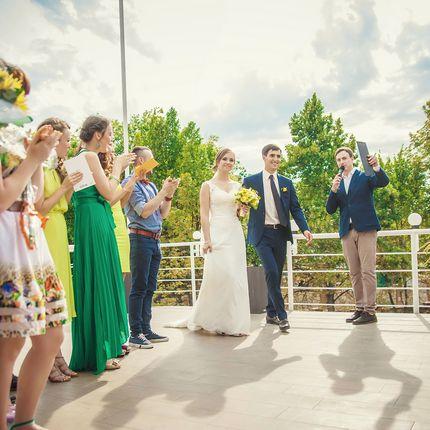 Ведущий на свадьбу в будние и воскресные дни
