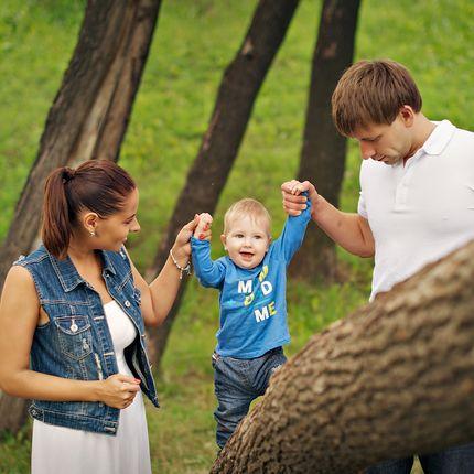 Детская или семейная фотосъёмка, 2-3 часа