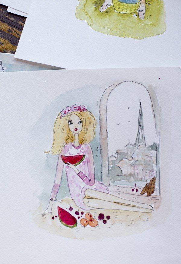 Фото 4347909 в коллекции акварельные цветочности - Пригласительные открытки от Ерёменко Анастасии