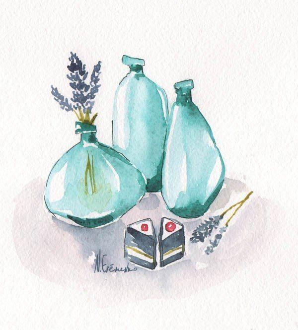 Фото 4347929 в коллекции акварельные цветочности - Пригласительные открытки от Ерёменко Анастасии