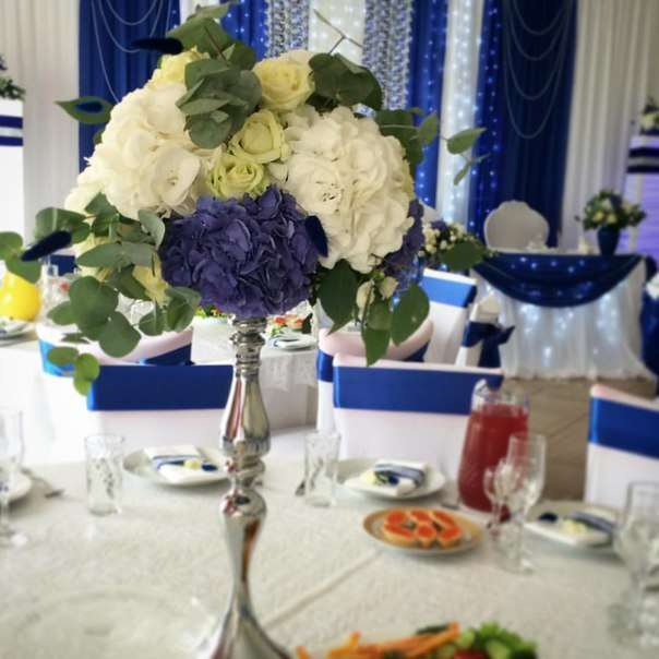 Композиция для столов гостей - фото 6805748 Флорист Яковлева Светлана