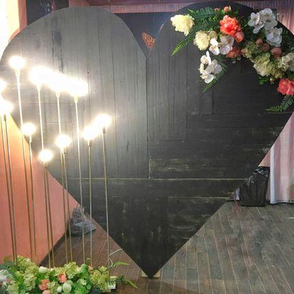 Фотозона Сердце в аренду