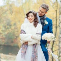 прогулка, фотосессия, свадьба осенью