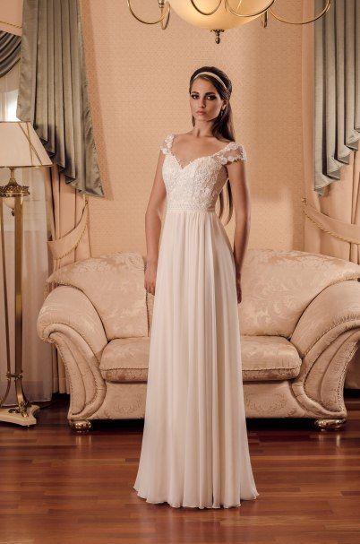 Романтичное платье с мягкой юбкой