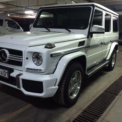 Аренда Mercedes Gelendvagen  G500