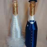 """Декор шампанского - набор """"Glory-жемчужный каприз"""""""