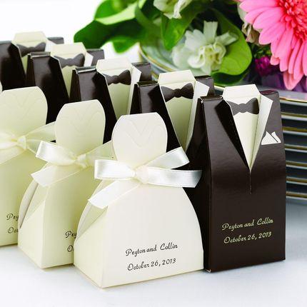 бонбоньерки-подарки гостям, возможна дополнительная декорация по цветоаой гамме свадьбы