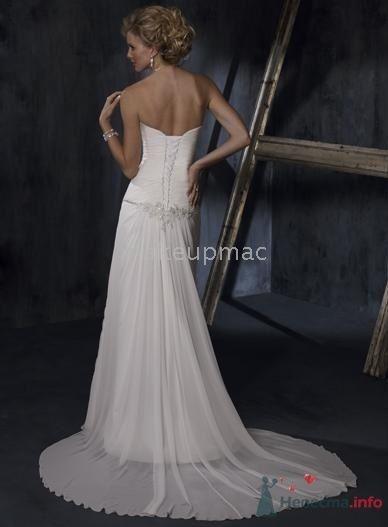 Платье на банкет вид сзади - фото 31810 Polly