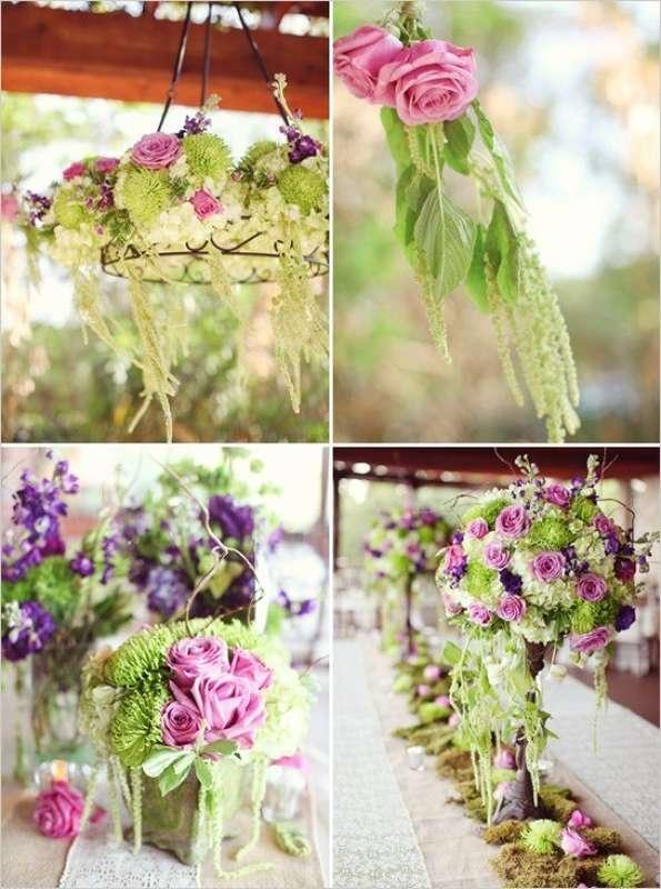 фиолетовый. сиреневый, зеленый, - фото 10438380 Невеста01