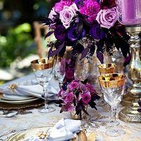 фиолетовый. сиреневый, золото, оформление