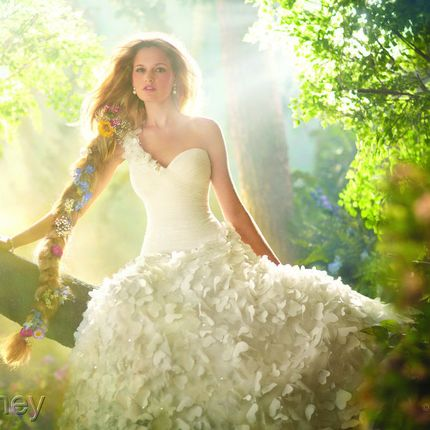 Свадебное платье Диснеевской принцессы